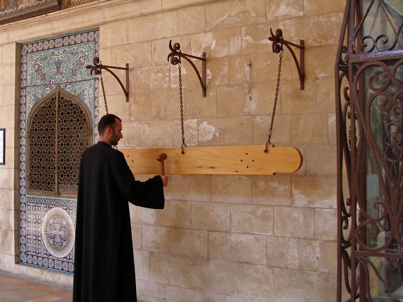 Երուսաղեմի Սրբոց Հակոբյանց հայկական վանքի փայտե կոչնակը